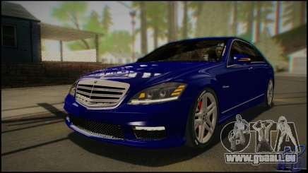 Mercedes-Benz S65 AMG 2012 Road version für GTA San Andreas