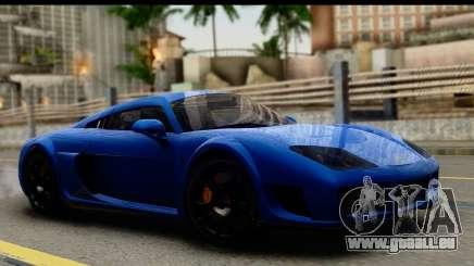 Noble M600 2010 FIV АПП pour GTA San Andreas