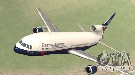 Lookheed L-1011 British Airways pour GTA San Andreas