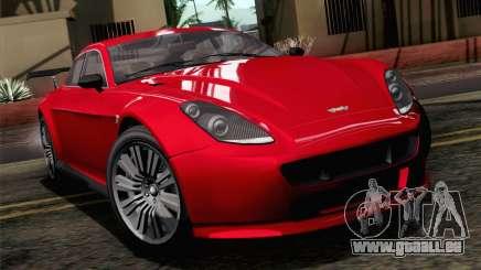 GTA 5 Dewbauchee Exemplar SA Mobile für GTA San Andreas