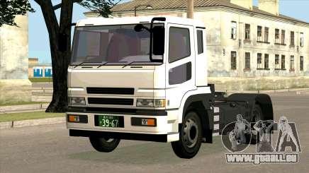 Mitsubishi Fuso Super Great FP-R pour GTA San Andreas