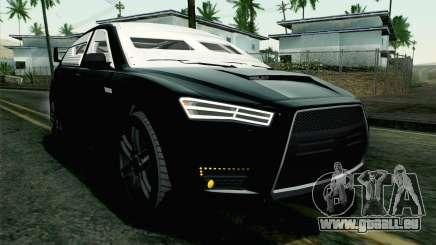 GTA 5 Karin Kuruma v2 Armored IVF pour GTA San Andreas