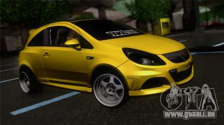Opel Corsa OPC pour GTA San Andreas