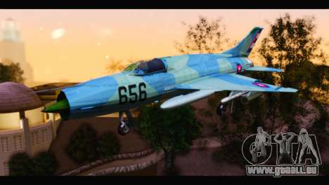 MIG-21MF Cuban Revolutionary Air Force pour GTA San Andreas