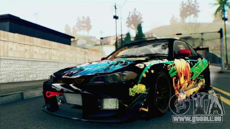 Nissan Silvia S15 Itasha für GTA San Andreas