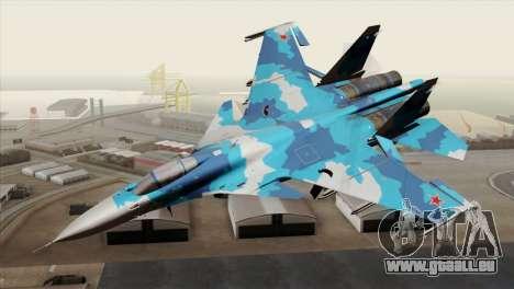 SU-33 Flanker-D Blue Camo pour GTA San Andreas