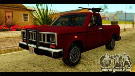 Bobcat Technical Pickup pour GTA San Andreas