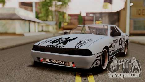 Elegy Full Customizing pour GTA San Andreas vue arrière