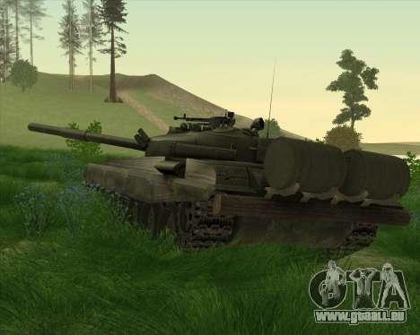 T-72 für GTA San Andreas zurück linke Ansicht