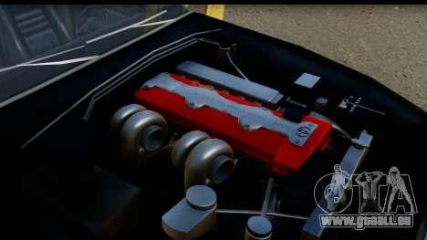 Elegy Leafa SAO Camber pour GTA San Andreas vue de droite