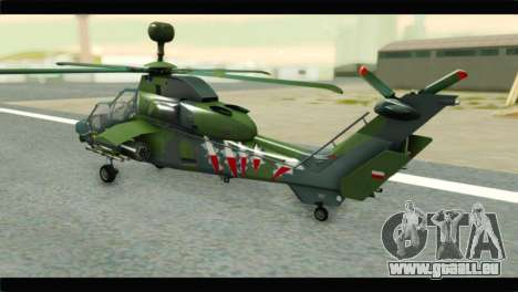 Eurocopter Tiger Polish Air Force für GTA San Andreas linke Ansicht