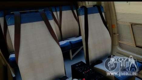 MBB Bo-105 Argentine Police pour GTA San Andreas vue intérieure