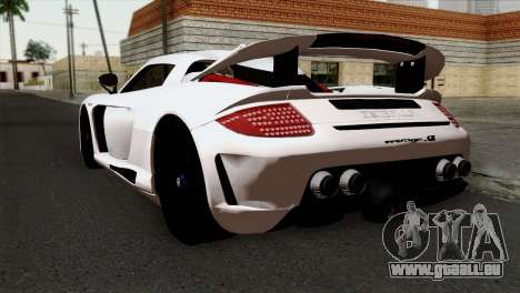 Gemballa Mirage GT v2 Windows Up pour GTA San Andreas laissé vue