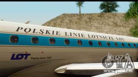 Embraer 175 PLL LOT Retro für GTA San Andreas Innenansicht