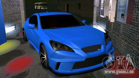 Hyundai Genesis Coupe für GTA San Andreas