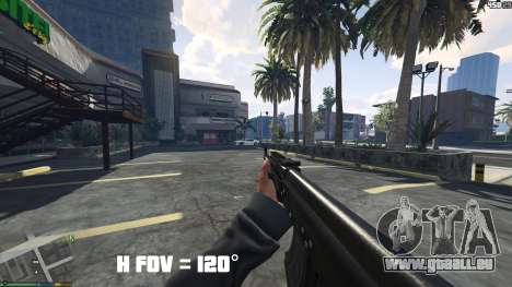 GTA 5 FOV mod v1.3