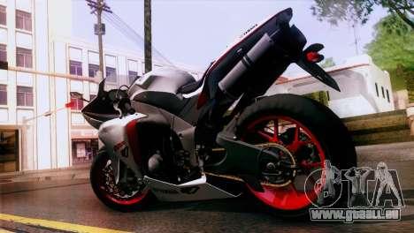 Yamaha YZF-R1 pour GTA San Andreas laissé vue