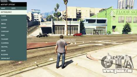 GTA 5 Native Trainer vierten Screenshot