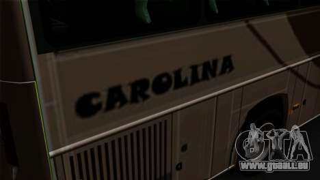 Comil Campione Carolina für GTA San Andreas Rückansicht