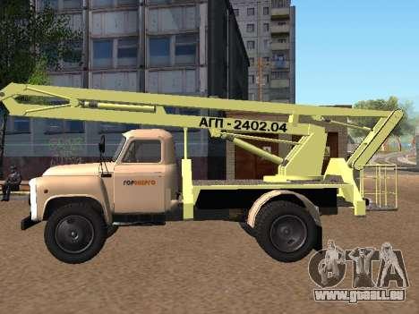 GAZ 52 Skylift pour GTA San Andreas laissé vue