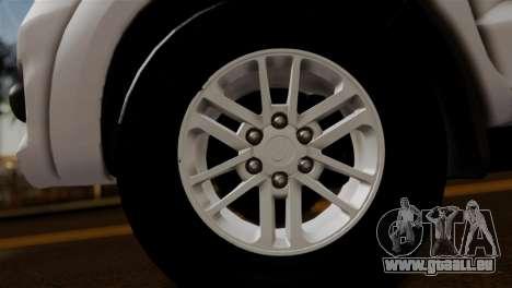 Toyota Hilux SW4 2014 Forca Tatica pour GTA San Andreas vue de droite