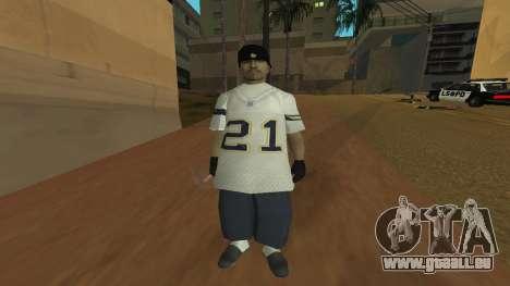 Los Santos Vagos Skin Pack pour GTA San Andreas