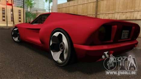 Bullet PFR v1.0 für GTA San Andreas linke Ansicht