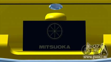 Mitsuoka Le-Seyde für GTA San Andreas Innenansicht