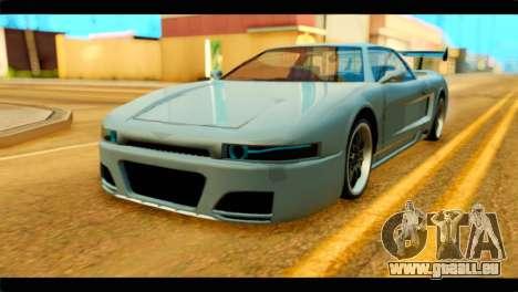 Infernus Rapide GTS Stock pour GTA San Andreas