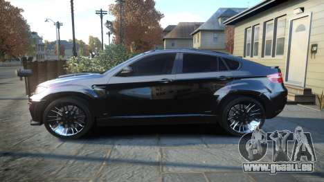 HAMANN BMW X6 2011 Tycoon EVO M v1.0 TSE pour GTA 4 est une gauche