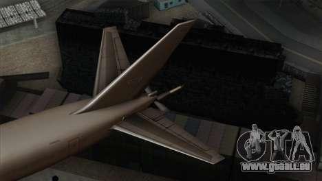Boeing KC-767 Japan Air Self-Defense Force pour GTA San Andreas sur la vue arrière gauche