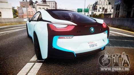 BMW i8 2013 pour GTA 4 Vue arrière de la gauche