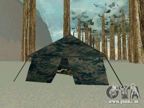 Tente pour GTA San Andreas deuxième écran