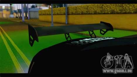 Nissan Skyline GTR Rockstar Energy pour GTA San Andreas vue de droite