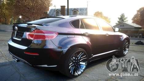 HAMANN BMW X6 2011 Tycoon EVO M v1.0 TSE für GTA 4 Rückansicht