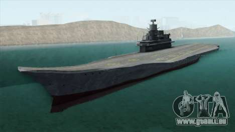 Admiral Kuznetsov Class pour GTA San Andreas