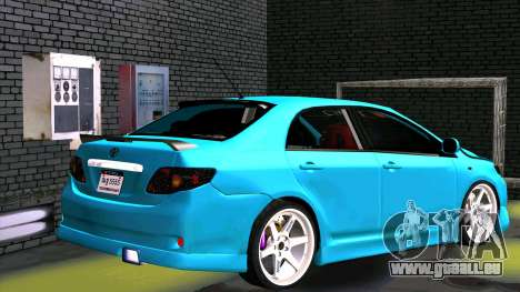 Toyota Corolla Altis für GTA San Andreas Seitenansicht