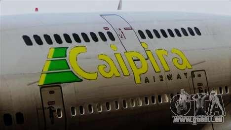 GTA 5 Caipira Airways für GTA San Andreas Rückansicht