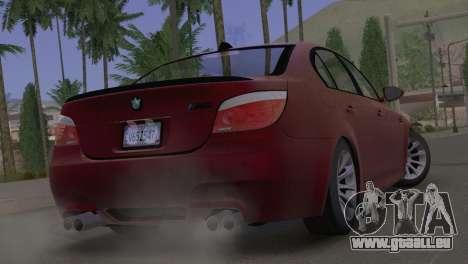BMW M5 E60 2009 Stock für GTA San Andreas linke Ansicht