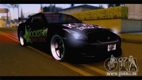 Nissan Skyline GTR Rockstar Energy für GTA San Andreas