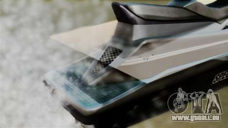 Seashark from GTA 5 pour GTA San Andreas vue arrière