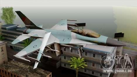 F-16C TNI Angkatan Udara für GTA San Andreas