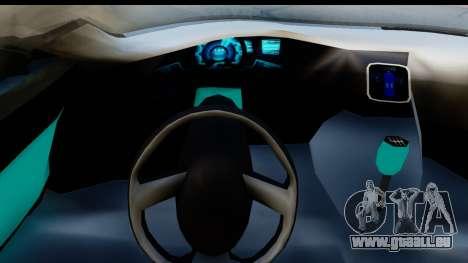 Audi A9 Concept pour GTA San Andreas vue de droite