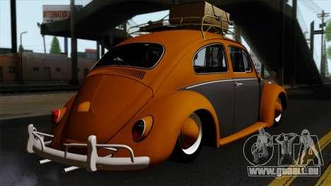 Volkswagen Beetle 1969 für GTA San Andreas linke Ansicht