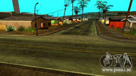 HQ Roads 2015 für GTA San Andreas