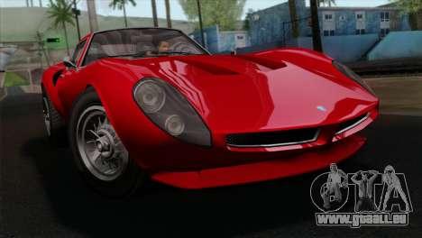 GTA 5 Grotti Stinger GT v2 IVF pour GTA San Andreas