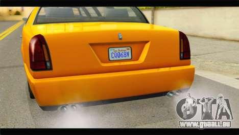 GTA 5 Dundreary Stretch pour GTA San Andreas vue de droite