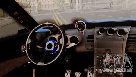 Elegy Full Customizing pour GTA San Andreas vue de droite