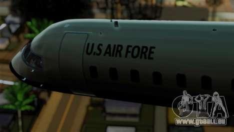 GTA 5 Buckingham Miljet für GTA San Andreas rechten Ansicht