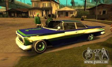 Luni Voodoo für GTA San Andreas Seitenansicht
